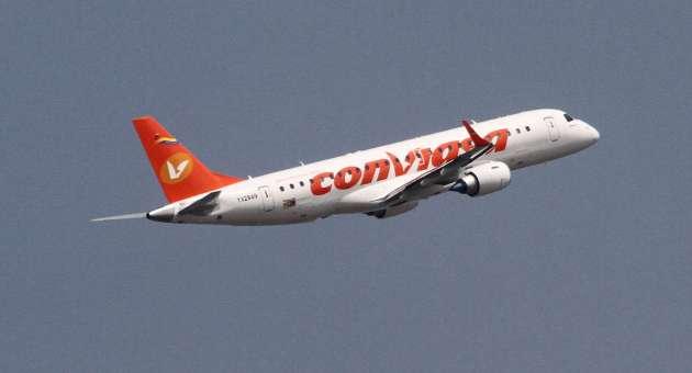 nuevos aviones de conviasa