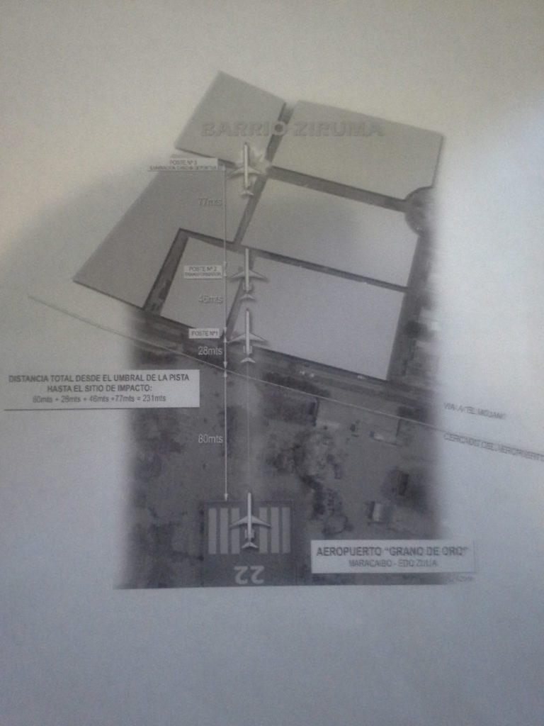 plano del accidente