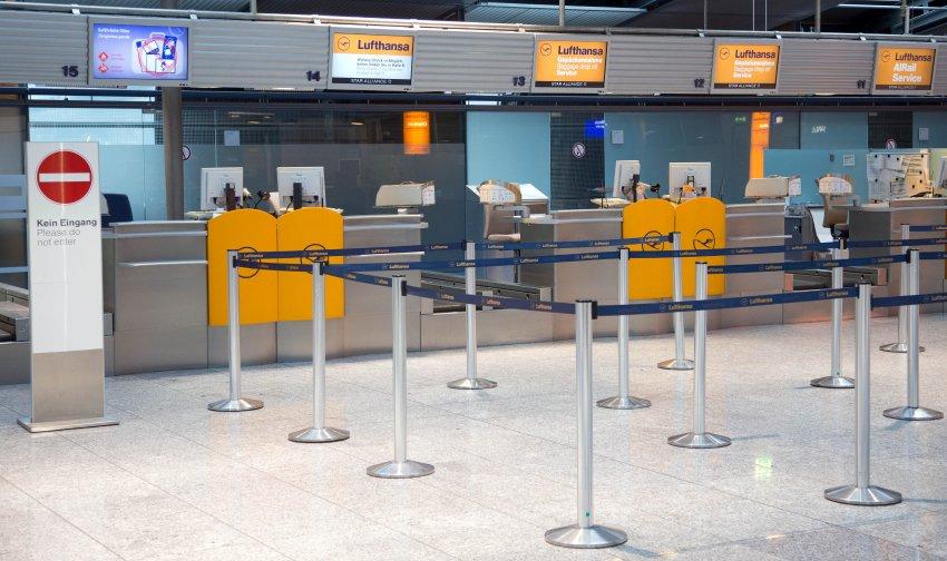 Warnstreiks bei der Lufthansa