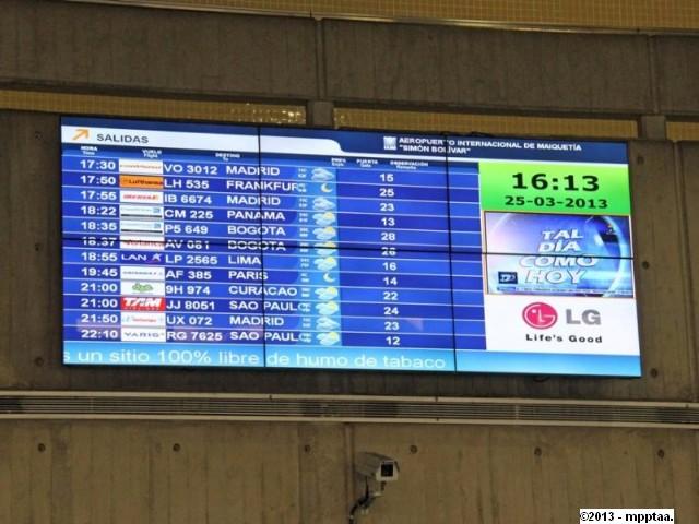 pantallas digitales maiquetia 2013