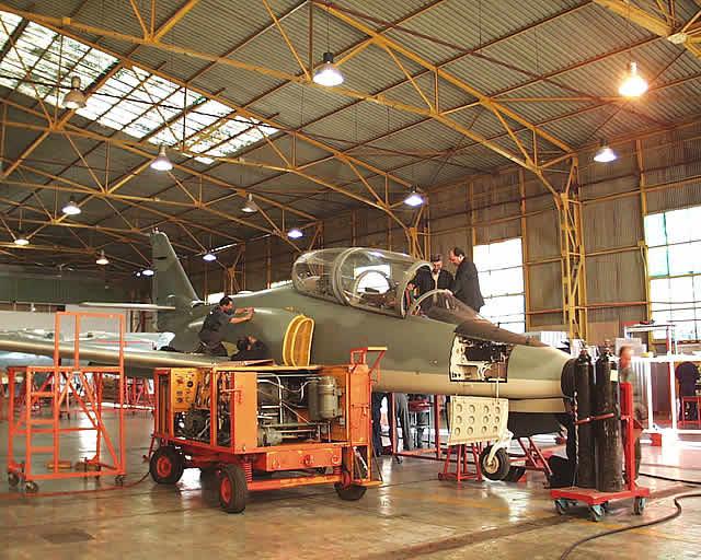reparacion de a-36 halcon