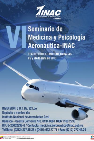 seminario medicina y psicologia aeronautica