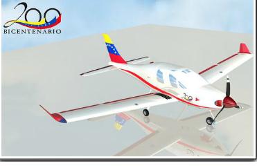 avion entrenamiento y carga