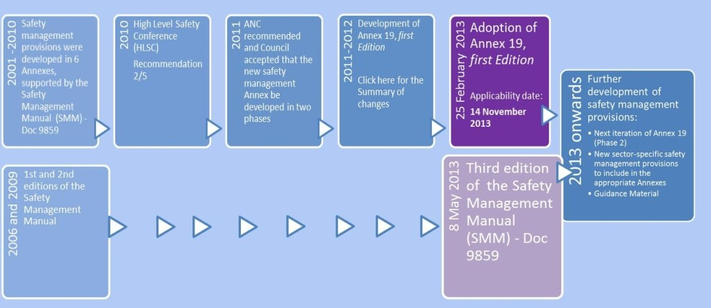 history adoptation annex 19 oaci