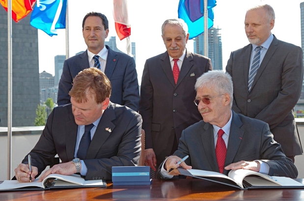 ICAO and Canada Sign New Supplementary Agreement