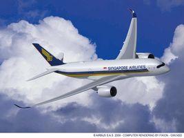 singapure airlines A350 XWB