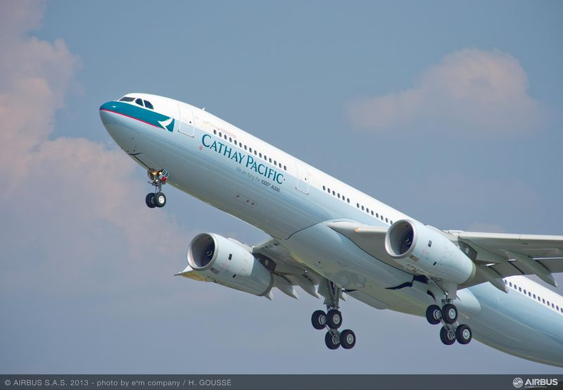 cathay pacif A330