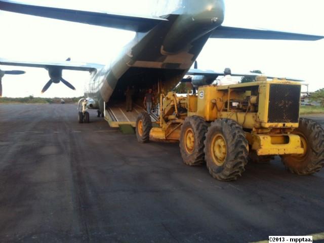 baer traslado de maquinaria - aeropuerto canaima