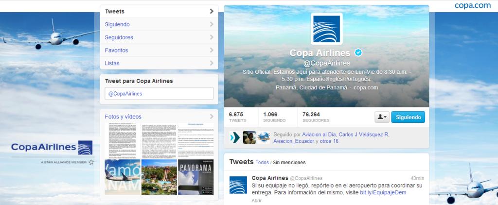 copa airlines 2013 retrasos
