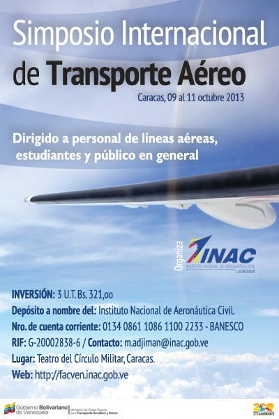 simposio transporte aereo