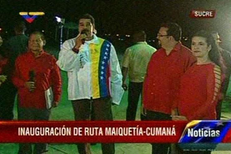 Maduro-inaugura-desde-Sucre-nueva-ruta-Maiquet-a-Cumana