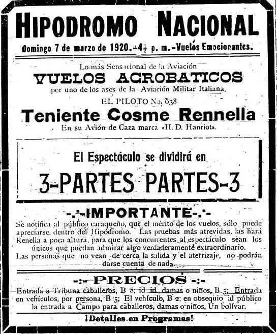 Anuncio Renella 7 Marzo1920