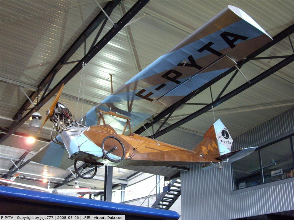 F-PYTA, Mignet HM-8, CN L-1, on display at Angers Loire museum.208949big