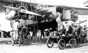Fokker F8 belading