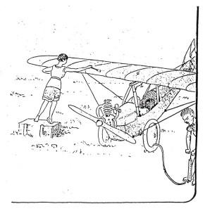 Le sport de l'air-Comment j'ai construit mon avionnette 240