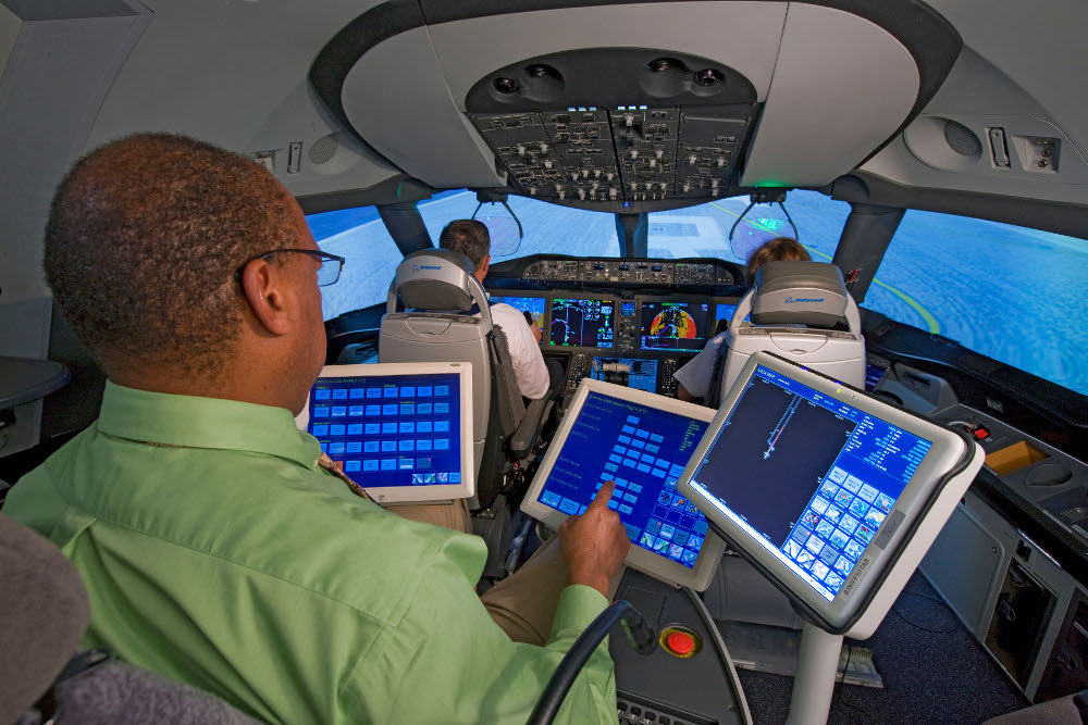 787 Motion Based Simulator K65022