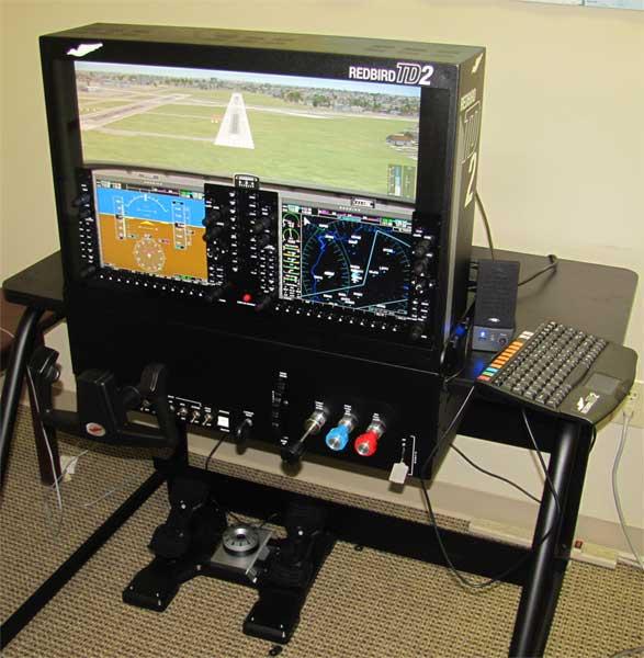 Redbird-TD2-G1000-Simulator