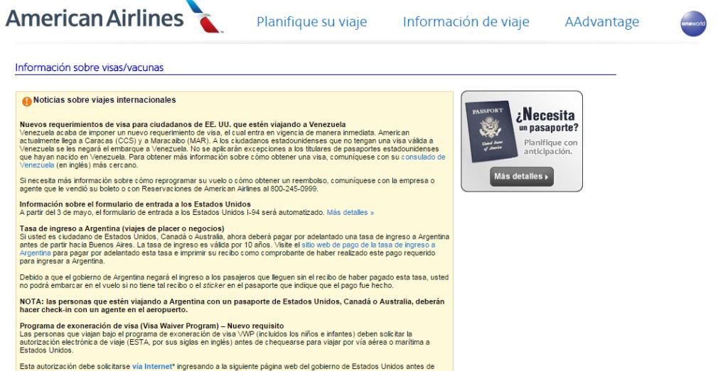 visa-para-ciudadanos-de-estados-unidos-american-airlines