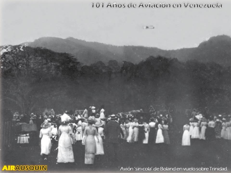 101 Años Aviación en Venezuela - Alejandro Irausquín, Ing. Aeronautico Ene2014 p87