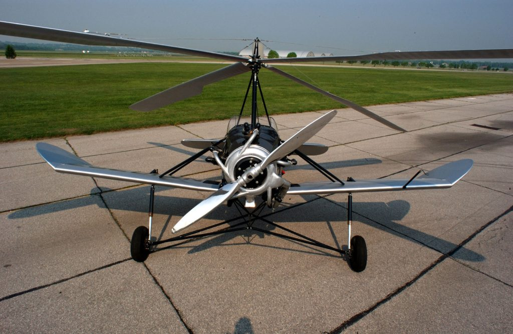 Autogiro Kellet K-2/K-3, preservado hasta nuestras fechas