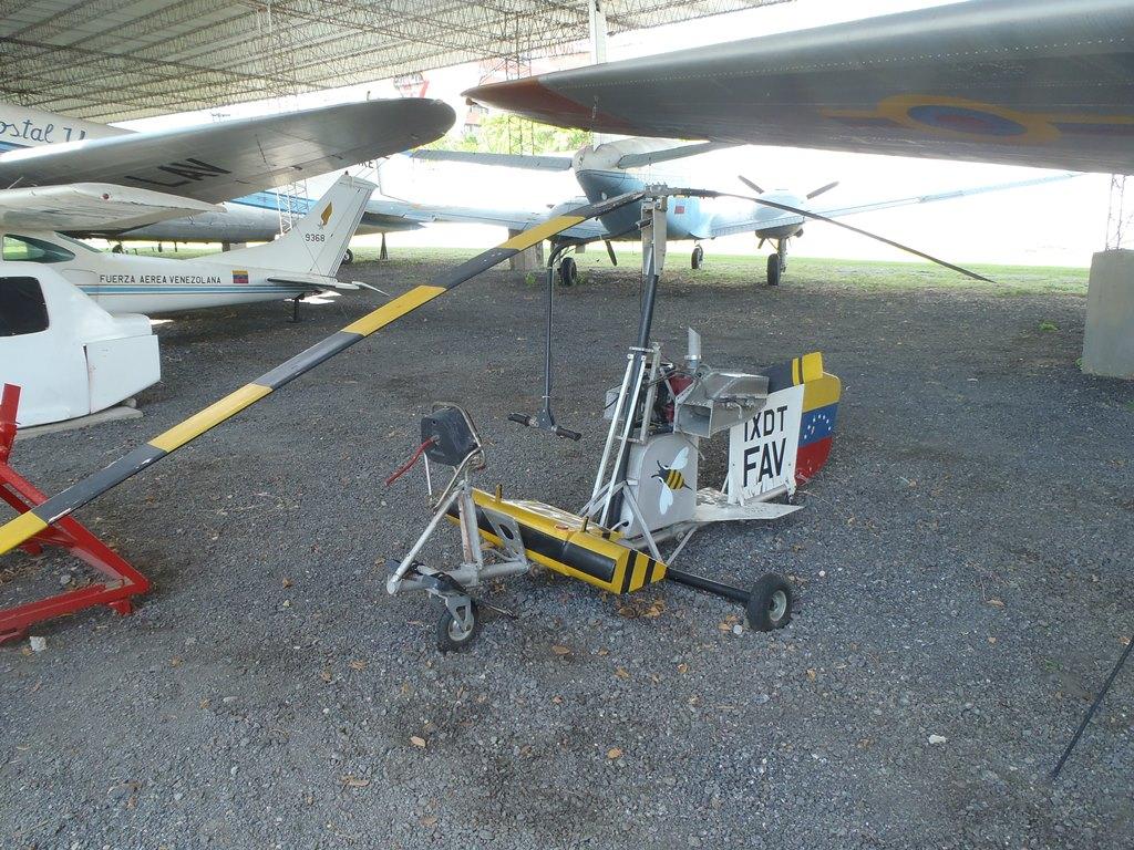 Autogiro Bensen B-8M en el Museo Aeronáutico de la Fuerza Aérea Venezolana