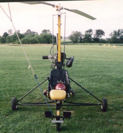 Autogiro Girobee original de Taggart, cuyos planos pueden están enlazados más adelante