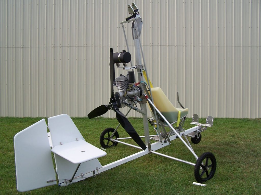 Autogiro Starbee, versión en kit del Gyrobee de Taggart.