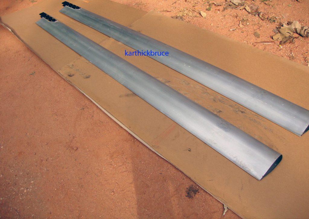 Palas de rotor en aluminio
