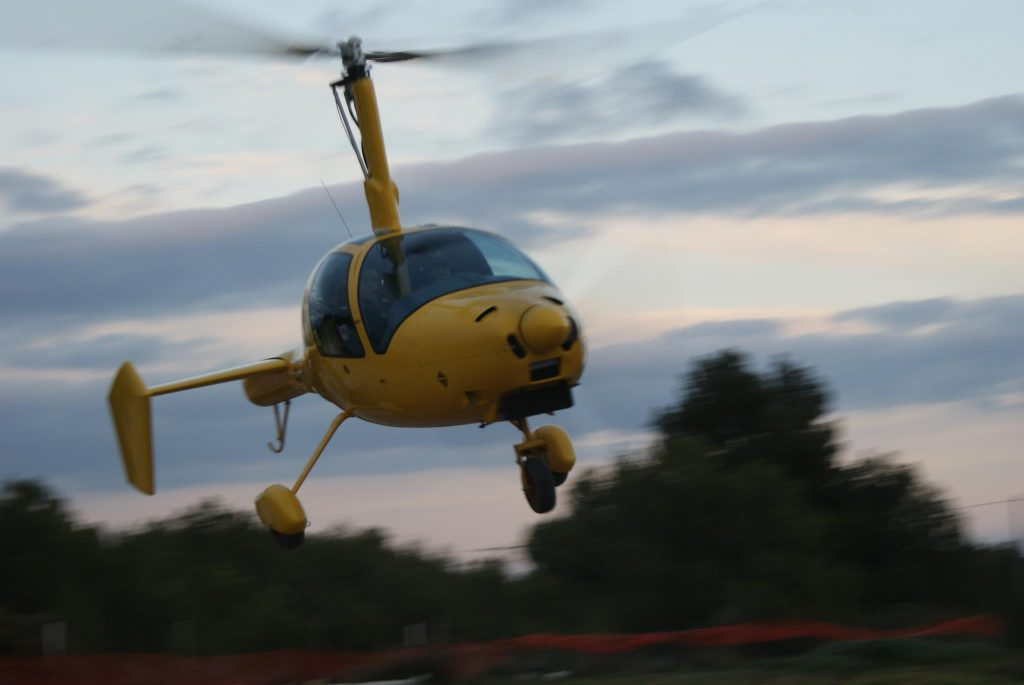 Autogiro Phoenix español (Foto cortesía de Pedro Lambert Rodriguez)