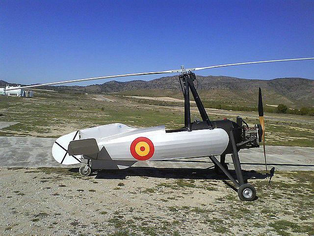 Planos de construcción de una réplica del Cierva C.30 (clic para abrir)