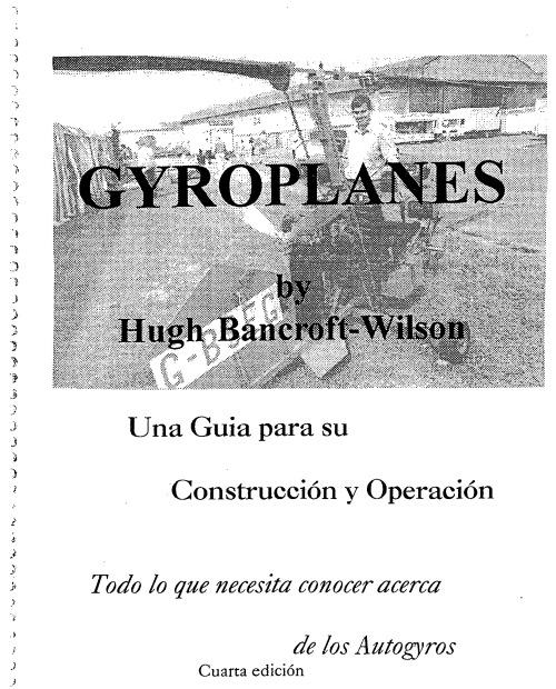 Autogiros, Construcción y Operación (clic para abrir)