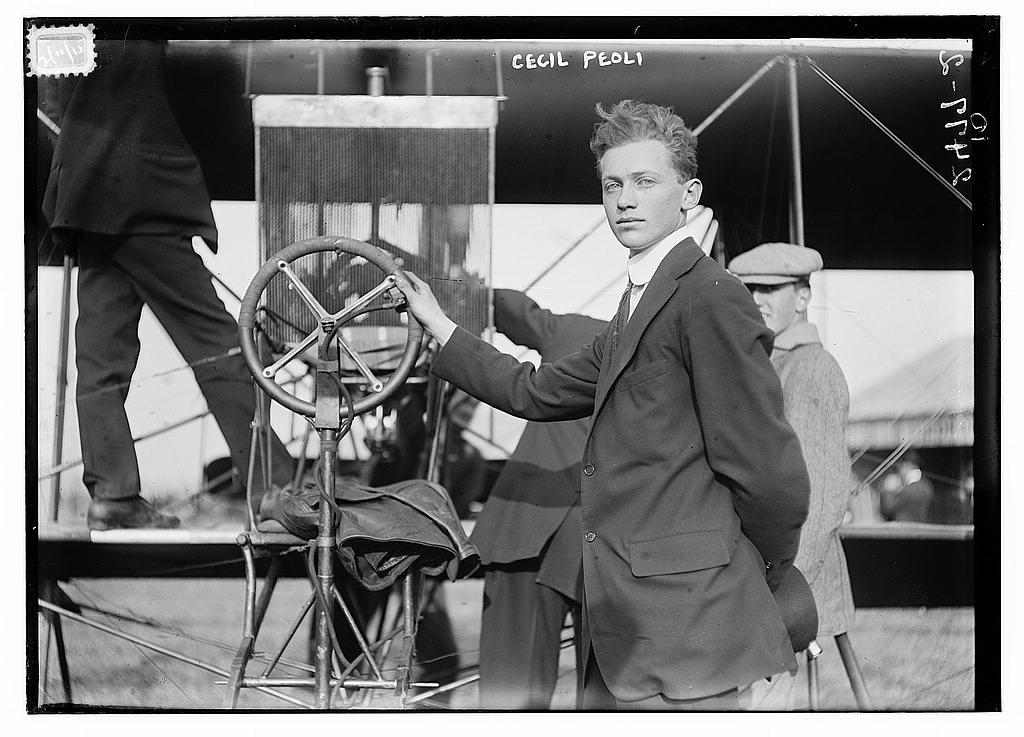 Cecil Peoli circa 1915 at the Red Devil.Peoli_2496405341_eb44d33c66_o