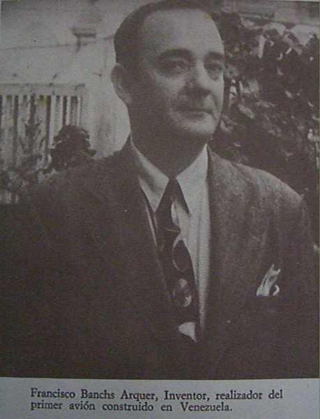 Francisco Banchs Arquer.Del libro Caracas Física y Espiritual de Aquiles Nazoa