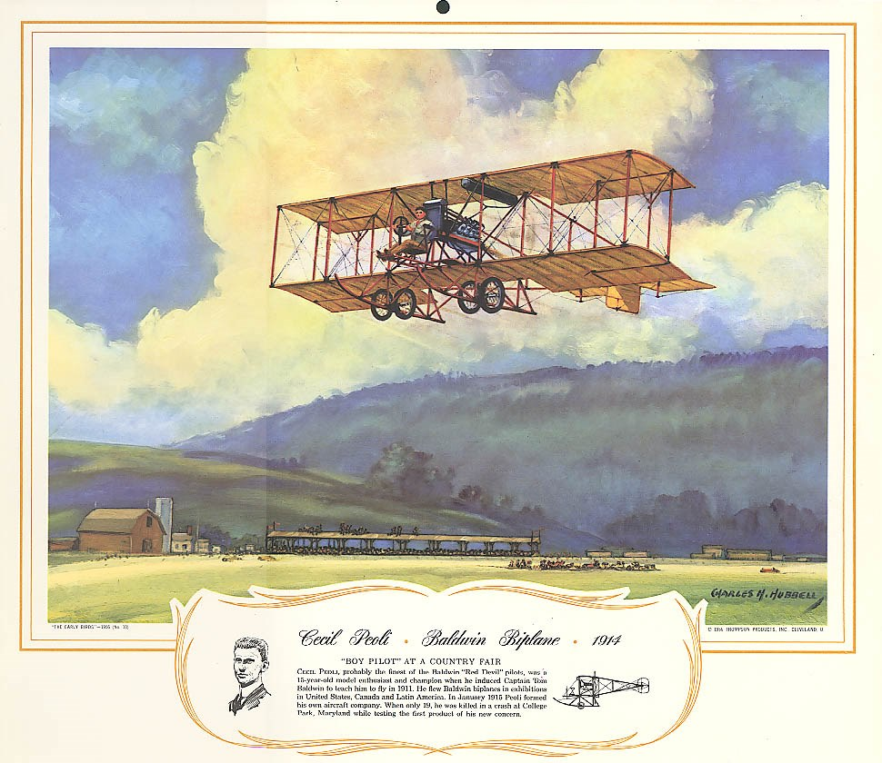 Peoli Calendar Charles Hubbell1956 .mzle124