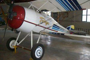 HANRIOT HD-1, 'TACARIGUA', ubicado en el Salon de Los Pioneros, del Museo Aeronautico de la FAV, Maracay. Antonio Maria Valera Oropeza (+) 2012.