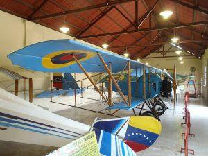 Caudron G3, ubicado en el Salon de Los Pioneros, del Museo Aeronautico de la FAV, Maracay. Foto Koen van der Kerckhove 2012.