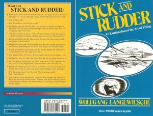 La contraportada del libro afirma que el secreto del vuelo de una aeronave más pesada que el aire es el ángulo de ataque.