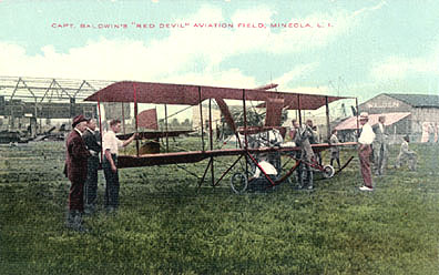 The Baldwin Red Devil Biplane.redev