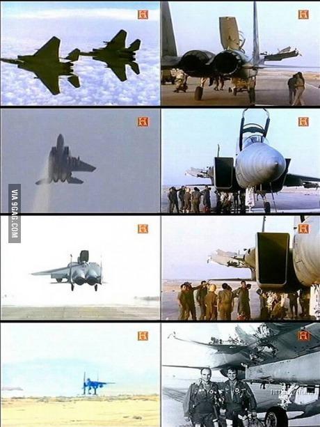 VideosViralesDeAviacion09.F-15 sin un ala