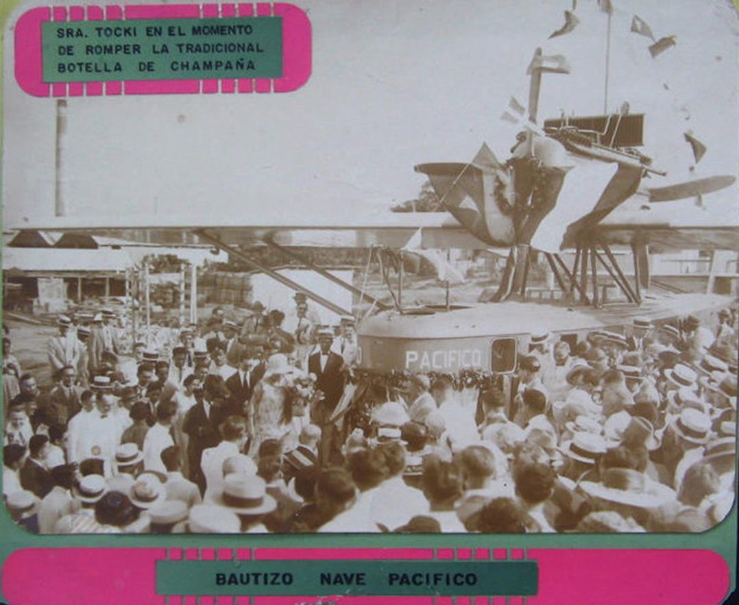bautizo del Dornier Wal 'Pacífico' de la SCADTA en Barranquilla en 1925.680464_483235508364220_863755014_o