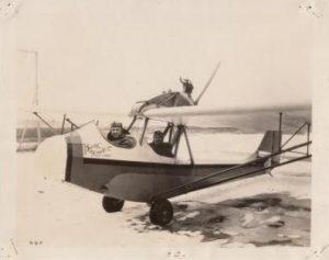 Curtiss-Wright CW-1 Junior NC623V, el primero de la serie.
