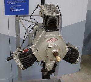 Motor Radial Szekely SR-3, de 45hp. Pima Air & Space Museum. Foto Jeff Keyzer.