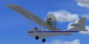 Curtiss-Wright CW-1 Junior para FSX. Para descargar, haga clic en la imagen.