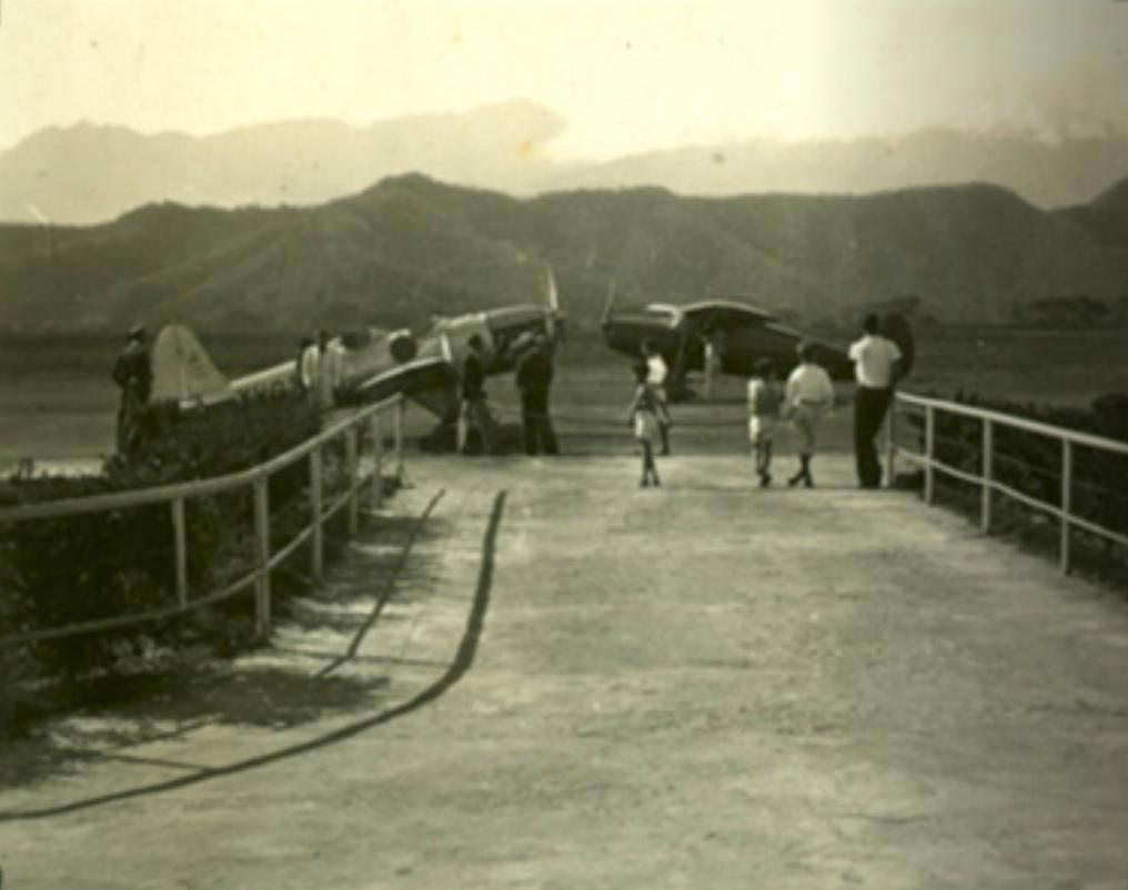 Ryan ST-A YV-G-TR3 y el Luscombe perteneciente a Mary Calcaño