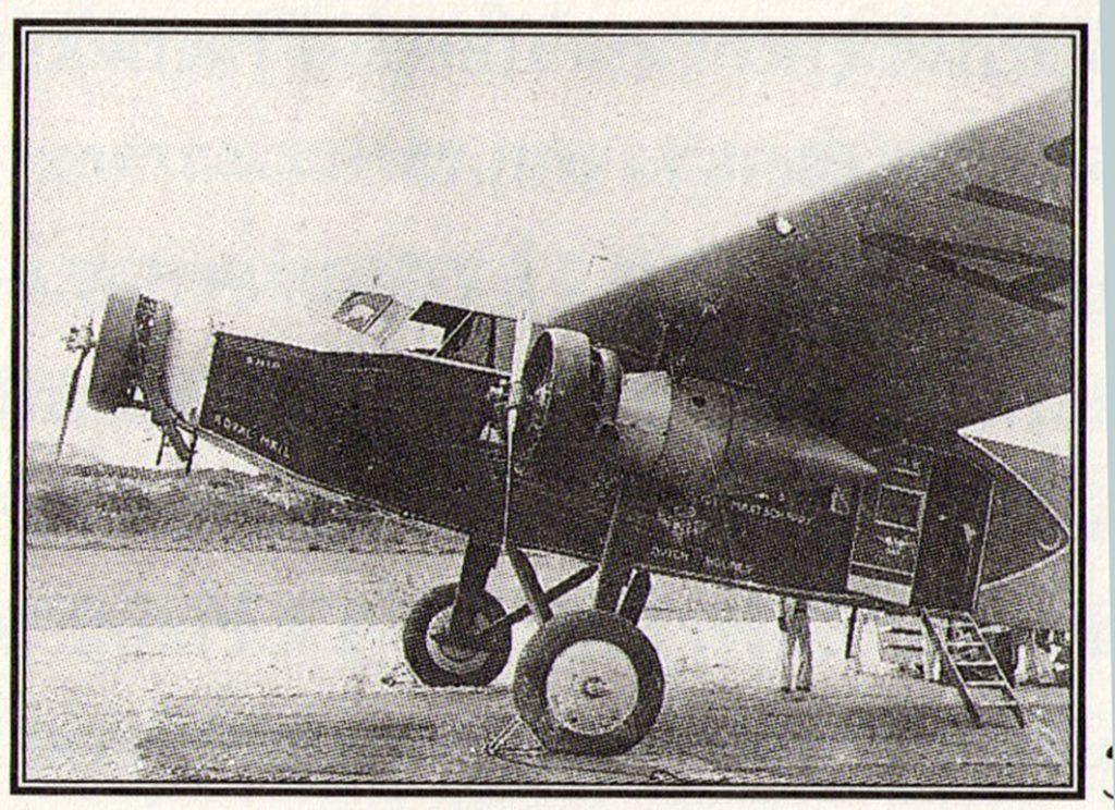 Snip26.Aqui vimos el Fokker XVIII Snip con el que KLM realizó su primer vuelo entre Amsterdam y Curazao vía Mare (Maiquetía)
