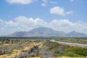 Cerro de Santa Ana, la única elevación mayor en la Península de Paraguaná.