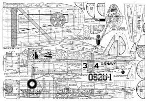 Planos OS2U Kingfisher para RC