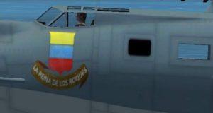 PBY-5A YV-P-APJ Modelo Alphasim, pintura Diego Dagnino.