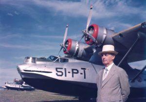 Consolidated PBY Catalina, diseñado en los 1930's por Isaac M. Laddon.