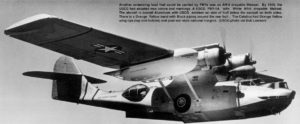 PBY-5A Catalina de la Guardia Costera de los Estados Unidos. Nótese el bote de salvamento lanzable en el ala derecha.